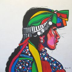 Hippie Art, Arte Popular, Indigenous Art, Mexican Art, Street Art Graffiti, Art Inspo, Book Art, Native American, Illustration Art