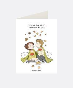 Best Thing Greeting Card   Lingvistov