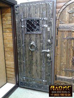 двери в стиле ретро