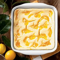 The best Mother's Day dessert recipes, from easy lemon ripple cheesecake bars and berry-yogurt pavlovas to the ultimate chocolate cake, and more. Lemon Desserts, Lemon Recipes, Just Desserts, Wine Recipes, Delicious Desserts, Dessert Recipes, Cooking Recipes, Easter Desserts, Bar Recipes