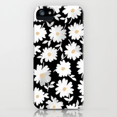 Daisies iPhone & iPod Case by Leah Reena Goren - $35.00