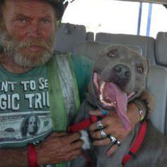 James Bryan, whos homeless and lives along U.S.