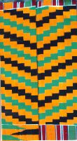 Kente cloth weave patterns and meaning