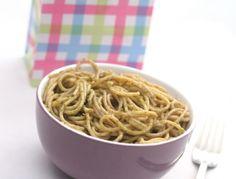 Bärlauchspaghetti - Ein einfaches aber überaus schmackhaftes Rezept!