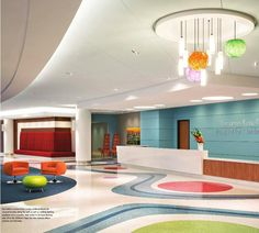 Amplatz Children S Hospital Interior Colors Http