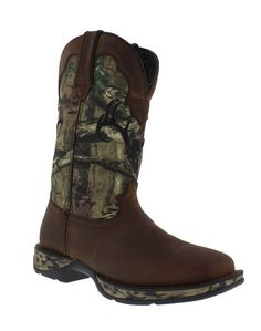 You'll find the brands you love and the largest selection of cowboy boots, western wear & work gear. Camo Boots, Cowboy Boots, Mossy Oak Camo, Deer Skulls, Square Toe Boots, Pull On Boots, Western Wear, Hunting, Brown