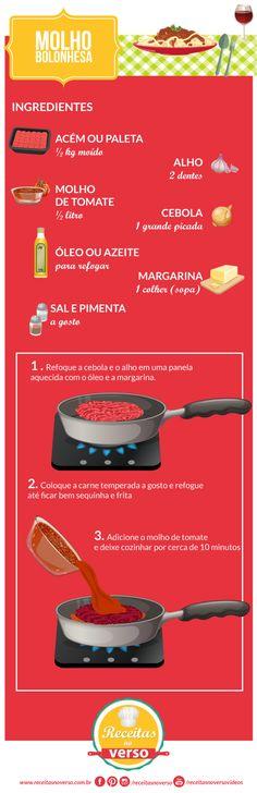 Carne=lentilha, berinjela ou couve flor - molho bolognesa
