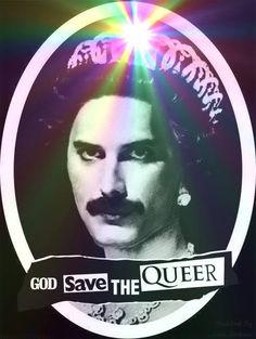 Freddie Queer Pride by Jack Gerboni   #LGBT #LGBTPride