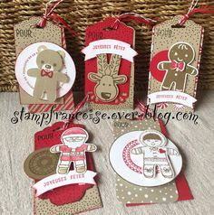 Hello , Nous allons nous amuser a décorer des étiquettes - tag de Noël dans le prochain atelier de démonstration chez mon amie Aurélie ! J'en profite pour la remercier chaleureusement , de nous ouvrir sa maison .....Bisous Aurélie !! C'est le moment d'aborder...