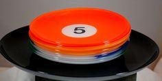 Luminarc Glass 8 Ball Billard Ball Plate Set #Luminarc
