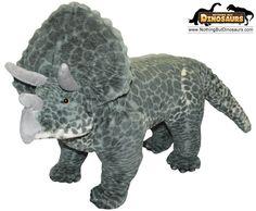 Giant Stuffed Animals   ... Toy Soft Jumbo 37 Inch Triceratops Dinosaur Plush Stuffed Animal Toy