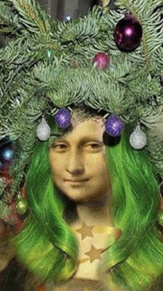 Noel Christmas, Christmas Ornaments, Mona Lisa Parody, Mona Lisa Smile, Classic Beauty, Art Images, Coloring Pages, Appreciation, Lisa Lisa