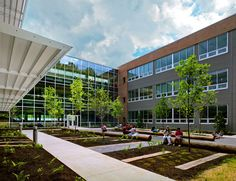 Manassas Park Elementary +Pre-K, #LEED Gold, Manassas Park, Virginia, by @vmdoarchitects
