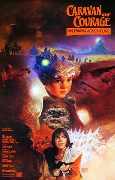 Caravana da Coragem - Uma Aventura Ewok (Caravan of Courage: An Ewok Adventure), Ewok, 1984 Movie, Movie Tv, Movie List, Warwick Davis, Romantic Comedy Movies, Martial Arts Movies, Adventure Movies, Cinema