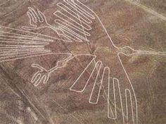 Bird, Nazca Lines - The great mystery of the Nasca lines: who made them?  How did they make them before the invention of the airplane?  What purpose was there in making something that no one could see?