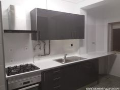 SENHOR FAZ TUDO - Faz tudo pelo seu lar !®: Instalação de uma cozinha Brico Depot na Serra das...