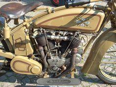 Excelsior Motorcycle, Chicago 1915. by Grard V., via Flickr