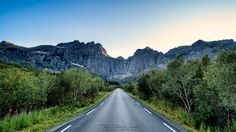 Roadtrip.. This is a capture while doing a roadtrip in the Lofoten Islands, Norway. The mountain itself is known as Stjerntinden by Tor-Ivar Næss on 500px.
