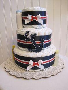 Diaper Cake by manuela
