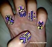 aztec nail designs - Google Search