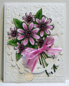 CropStop Mini-Tutorial Heartfelt Creations Card by istamp31 - Cards and Paper Crafts at Splitcoaststampers