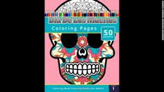 A list of coloring books for grownups