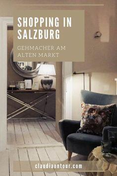 Gehmacher ist ein Traditionsbetrieb in der Salzburger Altstadt am Alten Markt. Home & Fashion lautet dort die Devise. #salzburg #shoppinginsalzburg #shopping