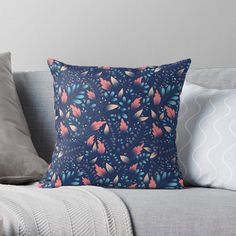 Floral Texture, Designer Throw Pillows, Pillow Design, Art Prints, Printed, Awesome, Pattern, Products, Home Decor