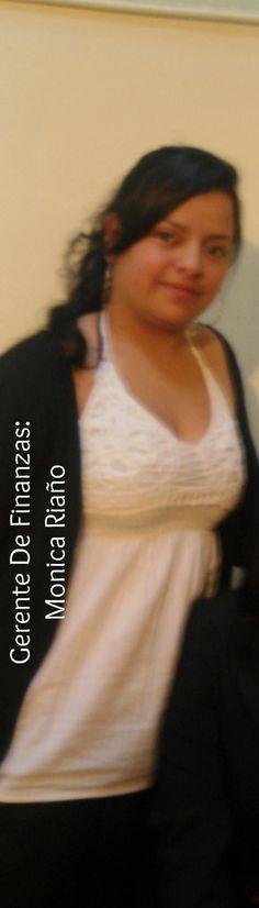 Monica Riaño Gerente de finanzas.