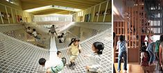 The Architecture of Early Childhood: Walls, floors and roofs become not just shelter but double as spaces for play