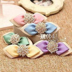 Beaded hairbows
