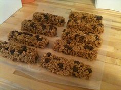 Homemade granola bars made with my Tupperware Snack Bar Maker. Here's the recipe . . . http://backtothecuttingboard.com/dessert/no-bake-chewy-granola-bars/