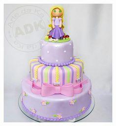 Repunzel Birthday Cake