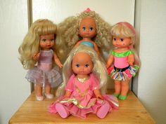 Mattel Li'l Miss dolls!