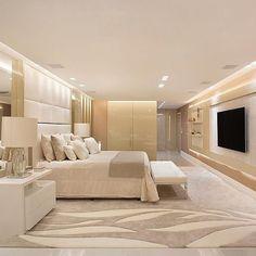Modern Luxury Bedroom, Master Bedroom Interior, Home Room Design, Master Bedroom Design, Dream Home Design, Luxurious Bedrooms, Home Decor Bedroom, Romantic Bedroom Design, Dream House Interior