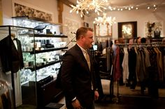 Todd Snyder: Making Up for Lost Time Post-J.Crew - Heard on the Runway - WSJ