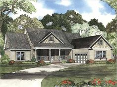 1 story, 2354 square foot, ready-to-build house plan from BuilderHousePlans.com