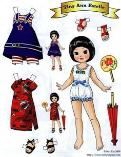 Tiny Ann Estelle paper doll by Siyi LinClearly inspired by Tonner dolls, but certainly not Mary Englebrite's style. By Siyi Lin.Bilderesultat for trade card cone paper dollME paper doll I have the actual doll with the red Asian dress.A small selection of Paper Art, Paper Crafts, Shoebox Crafts, Paper Dolls Printable, Vintage Paper Dolls, Paper Toys, Doll Patterns, American Girl, Doll Clothes