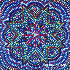 Handmade mandala paintings acrylic on canvas DIY fashion design art Handegemalte Acrylbilder auf Keilrahmen Kunst Esoterik Wandschmuck Wohndekor Mode  yoga inspiration meditation crazylovemandala