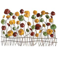 Poppies Wall Art- This would be great over my dining room table.