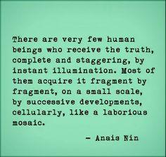 Truth like a mosaic