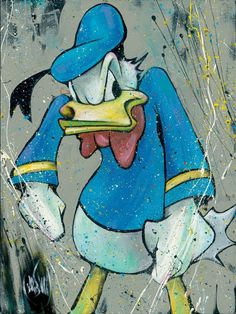 King of Quack - Art and Paintings by Artists Wyland, James Coleman, Rodel Gonzalez, Dan Mackin,