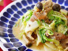 白菜と豚肉の味噌マヨ炒めの画像