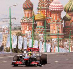 Moscow F1 show