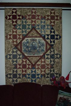 Union Generals Civil War Quilt