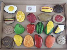 Kids Outdoor Play, Backyard Play, Kids Play Area, Backyard For Kids, Diy Mud Kitchen, Mud Kitchen For Kids, Pretend Kitchen, Pebble Painting, Pebble Art