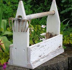 LOVE this gardening tool-box!