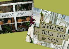 Fun Garden Signs | Lucy Designs
