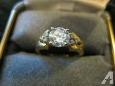 one carat diamond ring - $1800 (southern indiana)