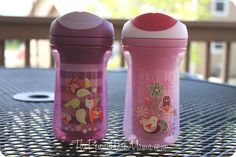 Tommee Tippee sippy cups - hands down the best when it comes to style and ease of use.